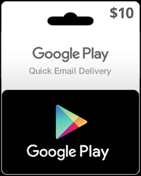 $10 USA Google Play Card | My Gift Card